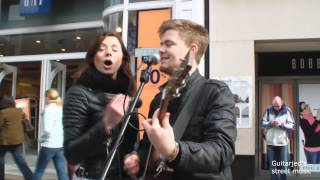 Issimo Band Performing great Music in Briggate Leeds City Centre (Pretty Simple) Original width=