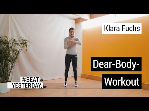 Dear-Body-Workout mit Klara Fuchs | #Beatesterday