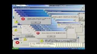 Músicas com as telas de erro do windows