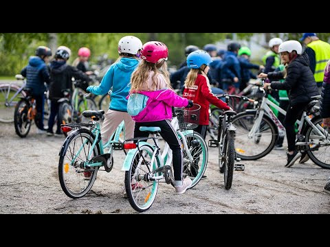 Cykeldag i skolan
