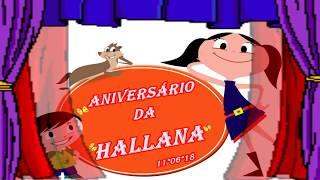 11 06 18 ANIVERSÁRIO DA HALLANA 2 ANINHOS PARABÉÉÉNS !!