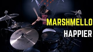 Marshmello ft. Bastille - Happier | Matt McGuire Drum Cover