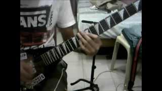 Enemies of Saturn - Bigayan guitar cover