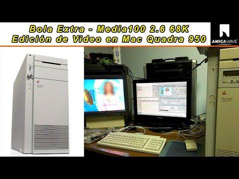 Bola Extra - Demostración Media 100 2.6.2 en Mac Quadra 950, 68040 a 25 Mhz , 36 Mb RAM.
