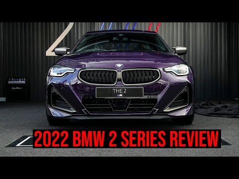 2022 BMW 2 SERIES COUPE REVIEW with Joe Achilles