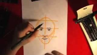Como desenhar um  rosto perfeito em 2 minutos