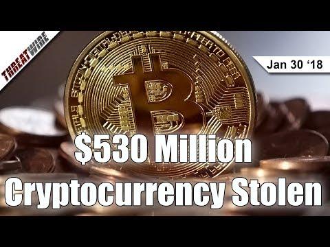 Half a Billion in Cryptocurrency Stolen - ThreatWire