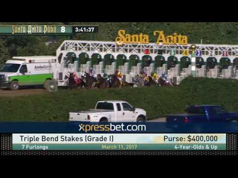 Triple Bend Stakes (Gr. I) - March 11, 2017