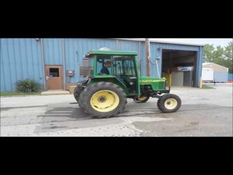 2000 John Deere 5210 tractor for sale | no-reserve Internet auction October 4, 2016
