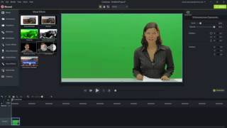 Camtasia 9, green screen effects