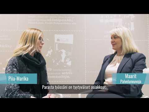Rahoitusalan asiantuntija Maarit I Säästöpankki