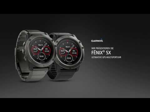 fēnix® 5X – der Outdoor Profi von Garmin
