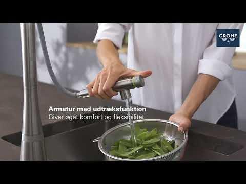 Vanhane med SmartControl til dit køkken - GROHE