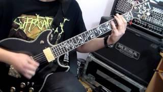 "Suffocation - ""Devoid of Truth"" guitar cover by Hubert Więcek"