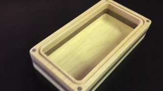 Maple/Cherry/Walnut Valet Box