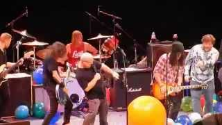 Foo Fighters w Tenacious D & Slash Immigrant Song Led Zeppelin The Forum 1/10/15
