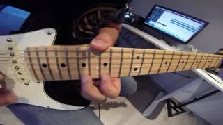 Iron Maiden - The Trooper - Solo cover