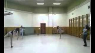 Skrillex gimnasia ritmica.