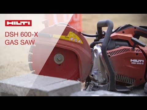 OVERVIEW of DSH 600-X Handheld Gas Saw