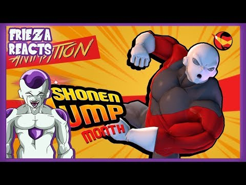 FRIEZA REACTS TO THE HIDDEN TOURNAMENT OF POWER CONTESTANT | SHONEN JUMP MONTH!