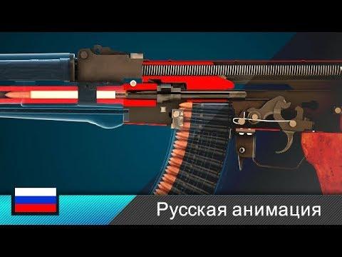 Автомат Калашникова / АК-47 / Штурмовая винтовка (Анимация) photo