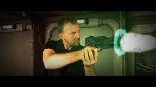 Plasma Gun Sci-Fi Weapon - green screen effect - making of