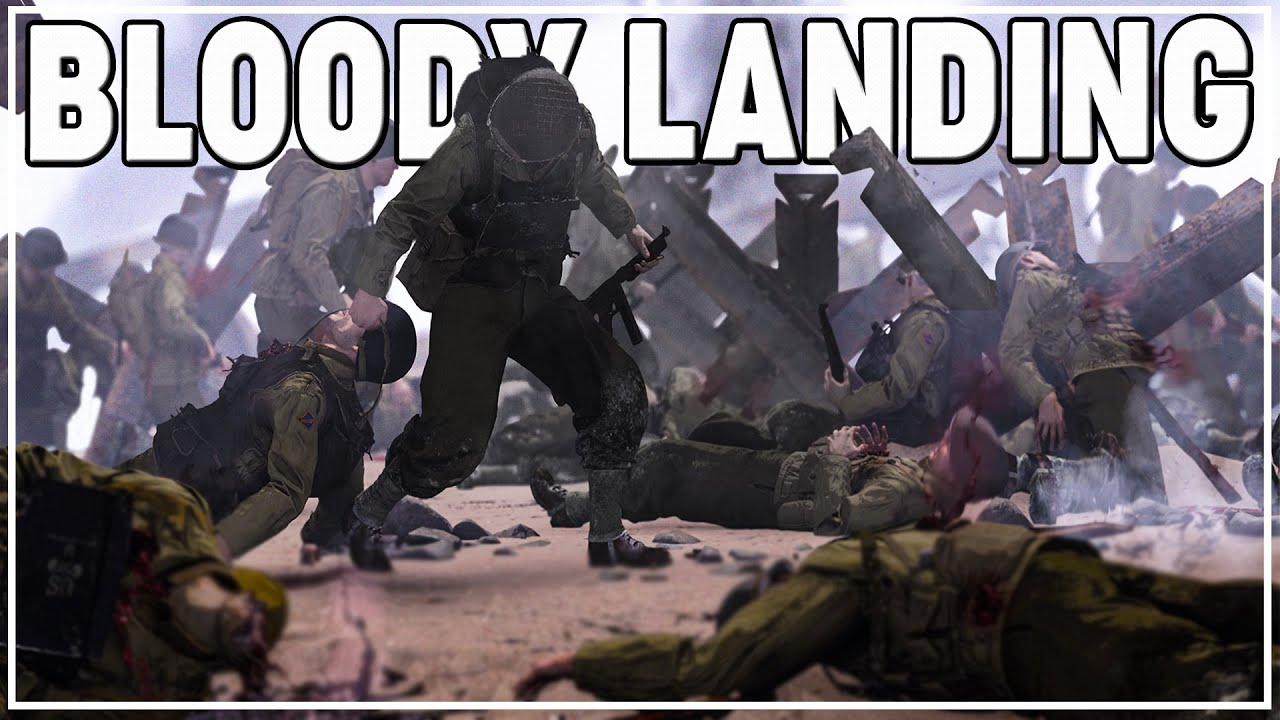The Shermanator - AMERICANS get PINNED on OMAHA Beach | Hell let Loose 50vs50 D-Day Landing