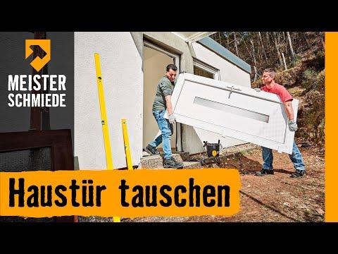 Haustur Tauschen Hornbach Meisterschmiede Doppelstabmattenzaun
