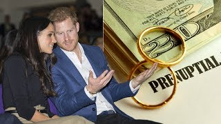 Prince Harry's rejected signing a prenup to safeguard £30million fortune