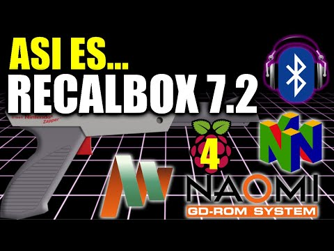 Ya llegó Recalbox 7.2 - Audio bluetooth, juegos de pistolas, emulación full speed en Rpi4, overclock