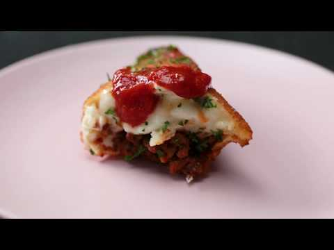 How to Make Deep-Fried Lasagna Pockets From Scratch   Tastemade