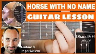A Horse With No Name Guitar Lesson - part 1 of 5