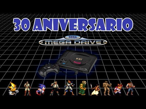 directo 30 Aniversario sega mega drive