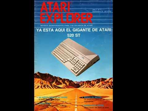 RE-VISTA RÁPIDA | - Atari Explorer - | Año 1 Número 5. 1985