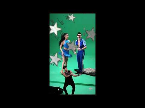 Rommel Pachecho y Sara Corrales en Mira quien baila