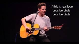 Jacob Whitesides - Let's Be Birds (Lyrics)