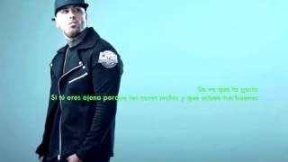 Nicky Jam ft Daddy Yankee Tu Hombre LETRAS