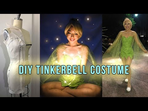 Making A Tinker Bell Costume | Coolirpa