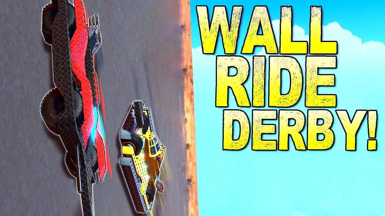 ScrapMan - Destruction Derby on a VERTICAL WALL! - Trailmakers Multiplayer