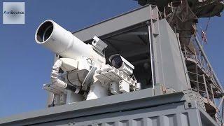 US Navy's New Killer Laser Gun: LaWS Laser Weapon System Live-fire
