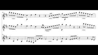 Mozart - Canonic Adagio, KV 484d/410 for Guitar Trio