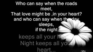 Enya Only Time Who can say where the road goes LYRICS