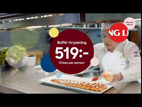Viking Line presenterar Svenska Kocklandslaget 6s
