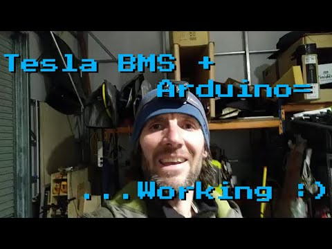Tesla BMS #2: Success! Arduino Talking