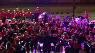 12/8/16 RHS Bands Christmas Concert - Wind Ensemble - Prelude Fanfare on Joy to the World