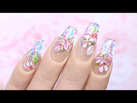 ✨ Magical (& Surprisingly Easy!) Pastel Floral Nail Art Tutorial ✨