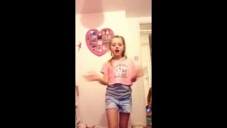 Scarlett Rose dancing singing Nick Brewer - talk to me Funny video