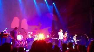Snow Patrol and Ed Sheeran sing New York live at Massey Hall in Toronto