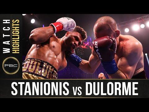 Stanionis vs Dulorme HIGHLIGHTS: April 10, 2021 | PBC on SHOWTIME