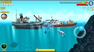 Teasing Seal Boss vs Ghost Shark - Hungry Shark Evolution
